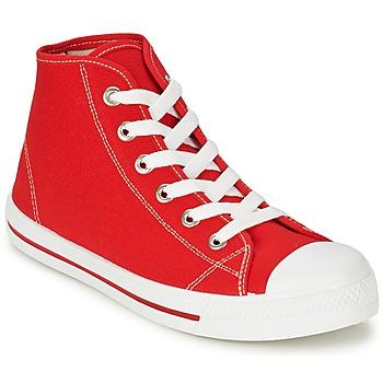 Scarpe Uomo Sneakers alte Yurban WAXI Rosso