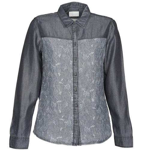 Grigio Camicie 3500 Consegna Donna Blouse Denim Gratuita Abbigliamento Esprit EoQBeWrdCx