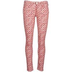 Abbigliamento Donna Jeans slim Lee SCARLETT Rosso / Arancio