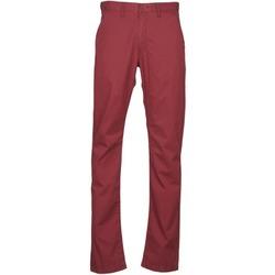 Abbigliamento Uomo Chino Lee CHINO OXBLOOD Rosso