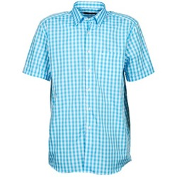 Abbigliamento Uomo Camicie maniche corte Pierre Cardin 539236202-140 Blu