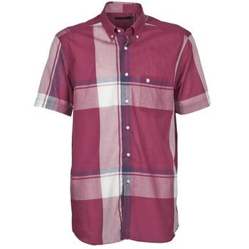 Abbigliamento Uomo Camicie maniche corte Pierre Cardin 538536226-860 Mauve / Viola