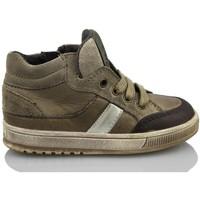 Scarpe Unisex bambino Sneakers alte Acebo's KIDS BOY MARRON