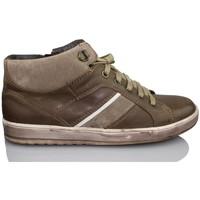 Scarpe Bambino Sneakers alte Acebo's APEL MARRON