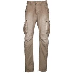 Abbigliamento Uomo Pantalone Cargo Freeman T.Porter PUNACHO COTTON GAB CHOCOLATE CHIP Marrone / Beige
