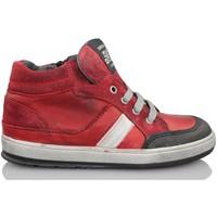 Scarpe Unisex bambino Sneakers alte Acebo's KIDS BOY ROJO