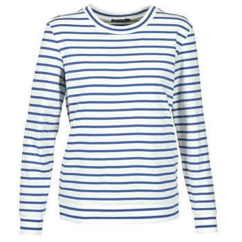 Abbigliamento Donna Felpe Petit Bateau BEAM Bianco / MARINE