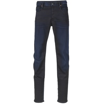 Abbigliamento Uomo Jeans slim G-Star Raw 3301 SLIM Nero / Super / Stretch / Denim