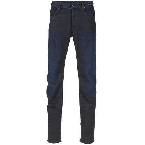 NeroSuper Jeans 3301 G Denim Uomo Raw star Slim Stretch sdrtQhC