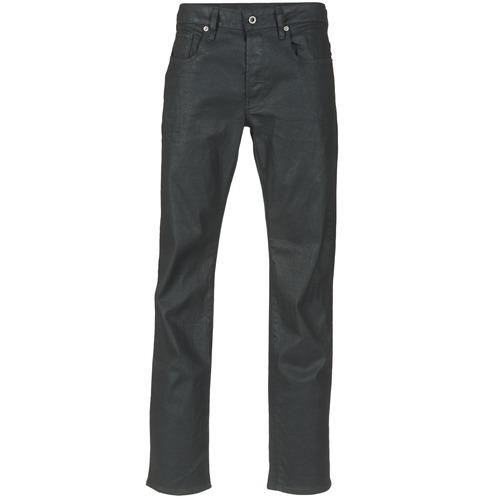 Abbigliamento Uomo Jeans dritti G-Star Raw 3301 STRAIGHT Nero