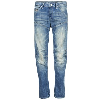 Abbigliamento Donna Jeans dritti G-Star Raw 5620 3D LOW BOYFRIEND WMN MEDIUM / Colorato / SCATTER / DENIM