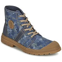 Scarpe Donna Sneakers alte Pataugas AUTHENTIQUE/DE Blu