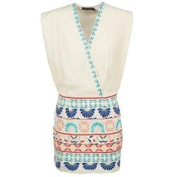 Abbigliamento Donna Abiti corti Antik Batik POLIN Bianco / Multicolore
