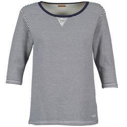 Abbigliamento Donna Felpe Napapijri BOISSERON Marine / Bianco