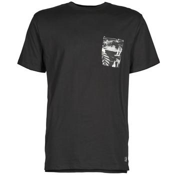 Abbigliamento Uomo T-shirt maniche corte DC Shoes WOODGLEN Nero