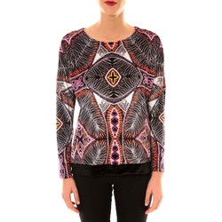 Abbigliamento Donna Felpe Custo Barcelona Sweat en velours Sur Heir multicouleurs Multicolore