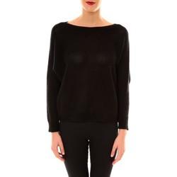 Abbigliamento Donna Maglioni De Fil En Aiguille Pull Galina noir Nero
