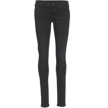 Abbigliamento Donna Jeans slim Pepe jeans SOHO Nero