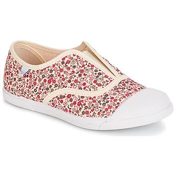 Scarpe Bambina Sneakers basse Citrouille et Compagnie RIVIALELLE ECRU / Multicolore