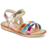 Scarpe Bambina Sandali Citrouille et Compagnie MINIRAVI Multicolore