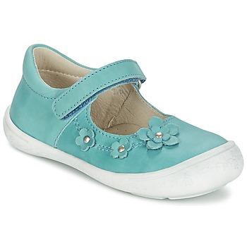 Scarpe Bambina Ballerine Citrouille et Compagnie MELINA BIS Blu
