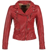 Abbigliamento Donna Giacca in cuoio / simil cuoio Oakwood 60861 Rosso