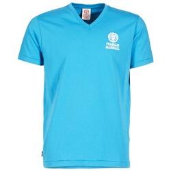 Abbigliamento Uomo T-shirt maniche corte Franklin & Marshall DOBSON Blu