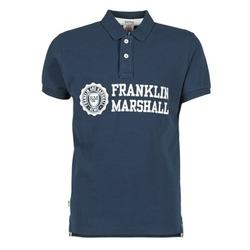 Abbigliamento Uomo Polo maniche corte Franklin & Marshall AYLEN MARINE