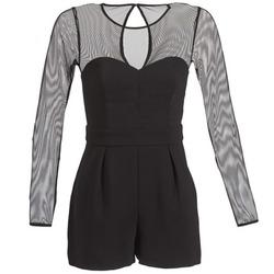 Abbigliamento Donna Tuta jumpsuit / Salopette BCBGeneration CHARLOTTE Nero