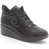 Scarpe Donna Derby Agile By Ruco Line 0226-82390 Sneakers Donna Eco-pelle Nero