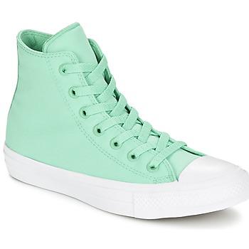 Scarpe Sneakers alte Converse CHUCK TAYLOR All Star II NEON HI Verde