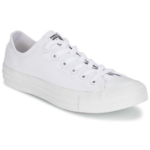 Converse CHUCK TAYLOR ALL STAR MONO OX Bianco - Scarpe Sneakers basse 74,99