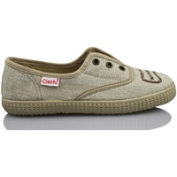 Scarpe Unisex bambino Sneakers basse Cienta NATURAL ELASTICO MARRON