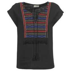 Abbigliamento Donna Top / Blusa Betty London ETROBOLE Nero
