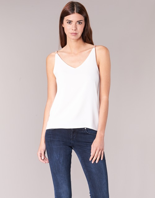 Abbigliamento Donna Top / Blusa Betty London EVOUSA Bianco
