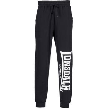Abbigliamento Uomo Pantaloni da tuta Lonsdale LARGE LOGO Nero