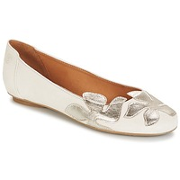 Scarpe Donna Ballerine Betty London ERUNE Bianco / Argento