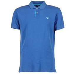 Abbigliamento Uomo Polo maniche corte Gant CONTRAST COLLAR PIQUE Blu
