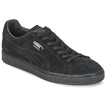 Scarpe Sneakers basse Puma SUEDE CLASSIC Nero / Grigio