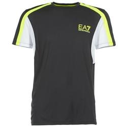 Abbigliamento Uomo T-shirt maniche corte Emporio Armani EA7 VENTUS7 Nero