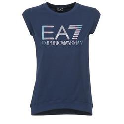 Abbigliamento Donna T-shirt maniche corte Emporio Armani EA7 ANDROUL MARINE