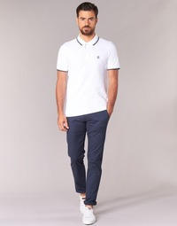 Abbigliamento Uomo Chino Selected THREE PARIS Marine
