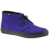 Scarpe Donna Sneakers alte Vans Chukka Slim Casual viola