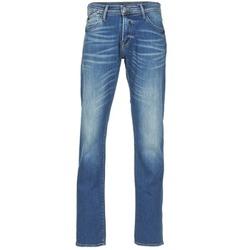 Abbigliamento Uomo Jeans dritti Le Temps des Cerises 812 Blu