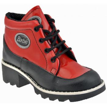 Scarpe Unisex bambino Sneakers alte Barbie College Sportive alte rosso