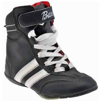 Scarpe Unisex bambino Sneakers alte Barbie Boxer Sportive alte nero
