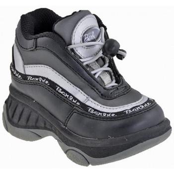 Scarpe Unisex bambino Sneakers alte Barbie Glenda Zeppa nero
