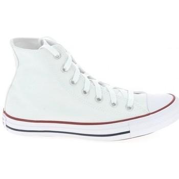 Scarpe Uomo Sneakers alte Converse All Star Hi Blanc Bianco