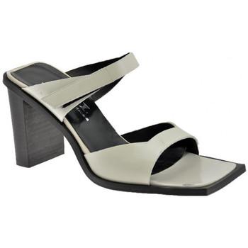 Sandali Nci  2 Fasce Velcro Tacco 80 Sandali