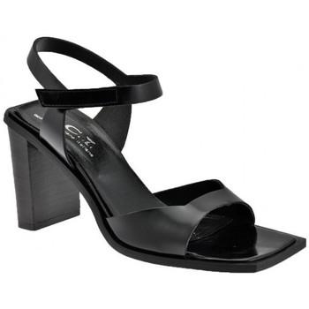 Scarpe Donna Sandali Nci Velcro Tacco 85 Sandali nero